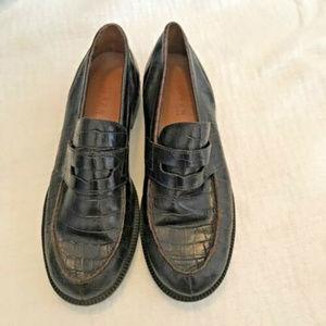 VTG Lauren Ralph Lauren Brown Leather Loafers